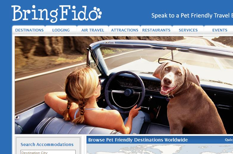Bring Fido Website